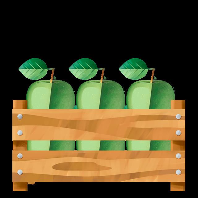 Kiste Apfel