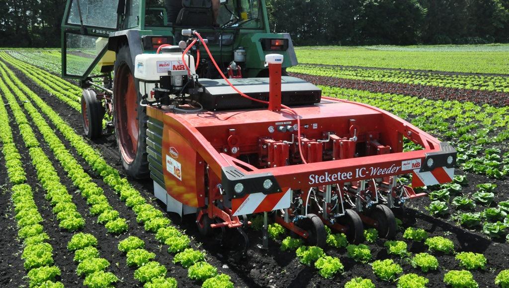Réduction de 85 % des produits phytosanitaires grâce a un robot