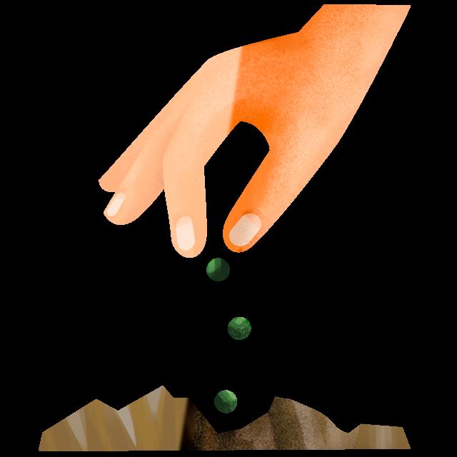 Hand säht 2